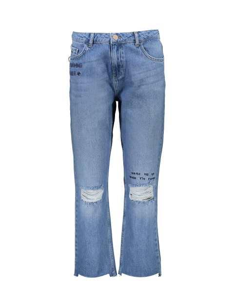 شلوار جین راسته زنانه - دفکتو