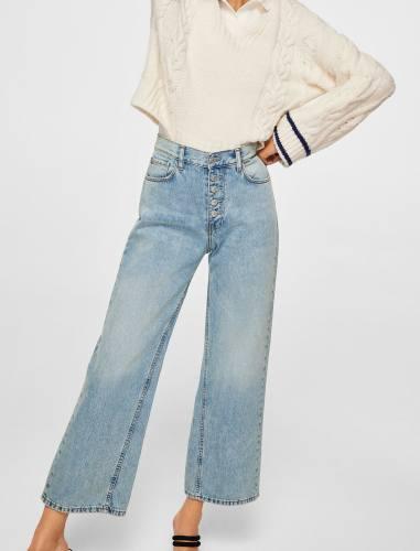 شلوار جین گشاد زنانه