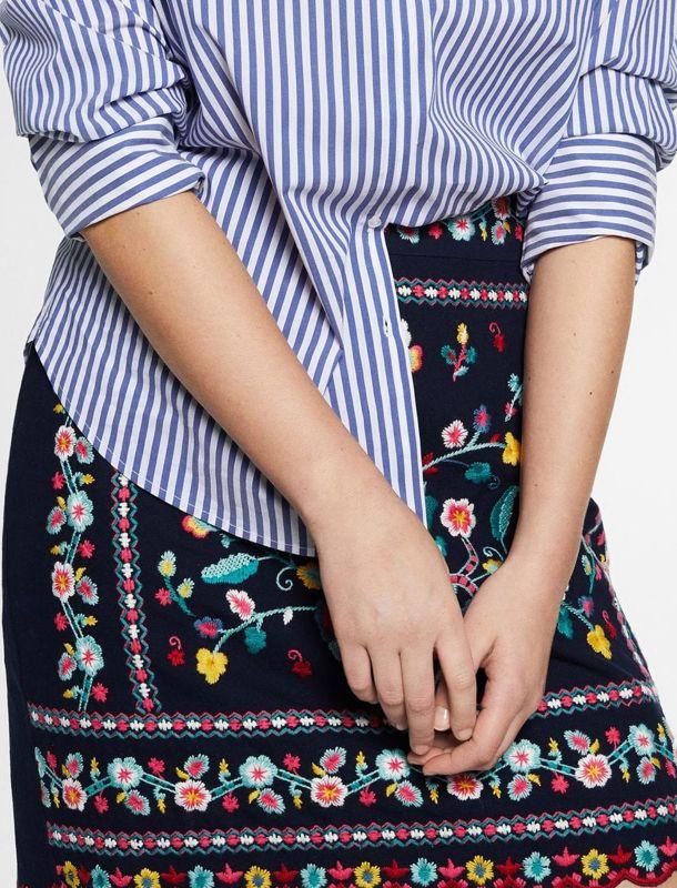 دامن نخی کوتاه زنانه - ویولتا بای مانگو