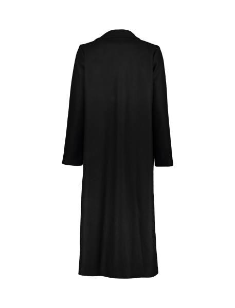 پالتو بلند زنانه - مشکي - 2