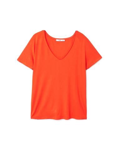 تی شرت ویسکوز یقه هفت زنانه