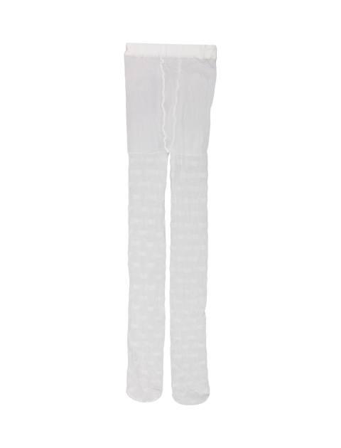 جوراب شلواری دخترانه - سفيد - 3