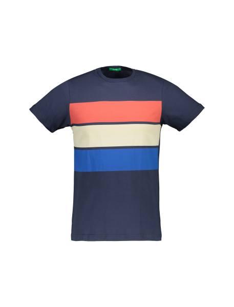 تی شرت آستین کوتاه مردانه - دودي - 1