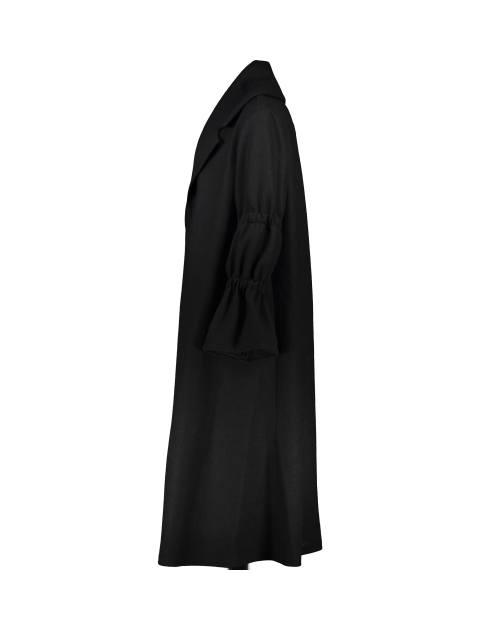 پالتو بلند زنانه - فلیا - مشکي - 3