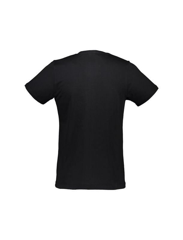 تی شرت نخی یقه گرد مردانه - آر اِن اِس