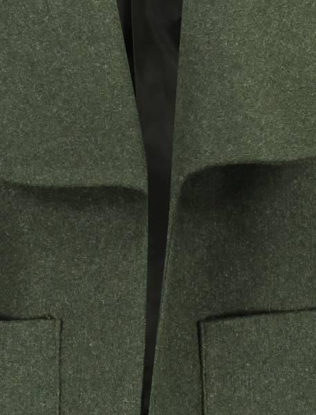 پالتو کوتاه زنانه - سبز - 5