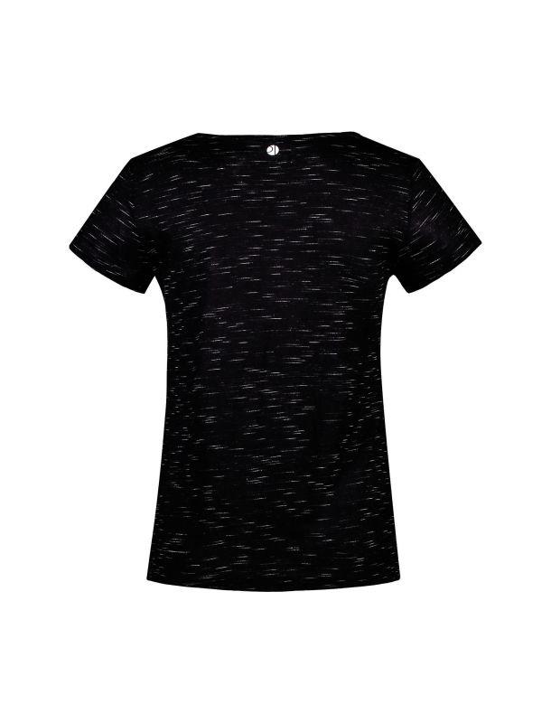 تی شرت ویسکوز یقه گرد زنانه