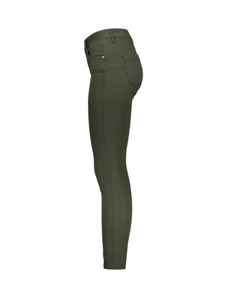 شلوار جین جذب زنانه - سبز  - 3
