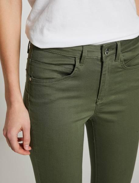 شلوار جین جذب زنانه - سبز  - 5