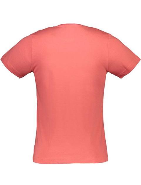 تی شرت نخی یقه گرد مردانه - گلبهي - 3
