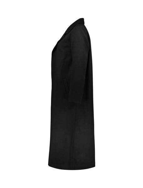 پالتو بلند زنانه - مشکي - 3