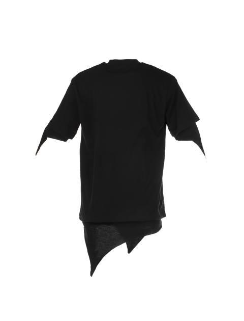 تی شرت یقه گرد مردانه - مشکي - 1