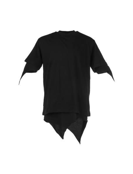 تی شرت یقه گرد مردانه - مشکي - 3