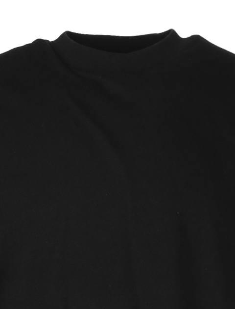 تی شرت یقه گرد مردانه - مشکي - 4