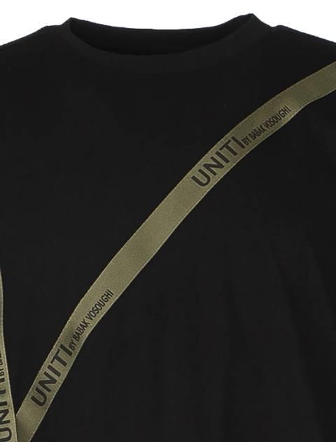 تی شرت آستین بلند مردانه - یونیتی - مشکي - 2
