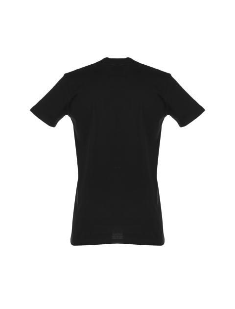 تی شرت نخی یقه گرد مردانه - یونیتی - مشکي - 2