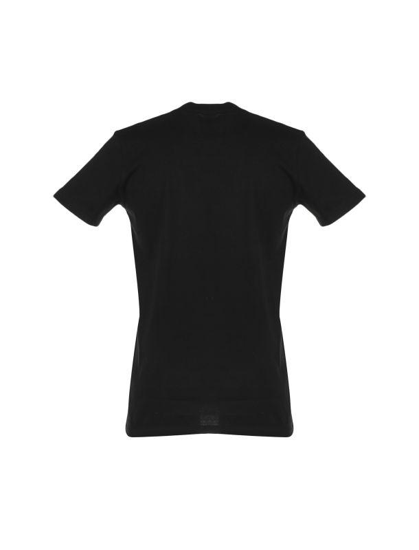 تی شرت نخی یقه گرد مردانه - یونیتی