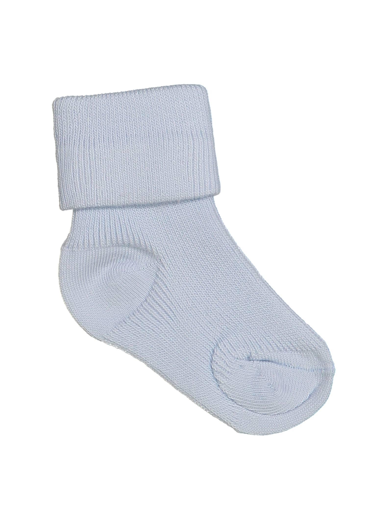 جوراب نخی نوزادی - ایدکس - آبي روشن - 1