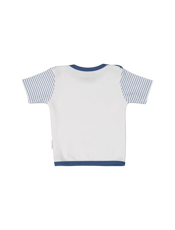 تی شرت نخی طرح دار پسرانه - بی بی ناز