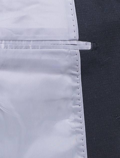کت تک نخی غیر رسمی مردانه - سرمه اي - 7