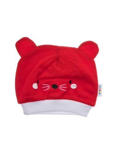 کلاه نخی ساده نوزادی - بی بی ناز