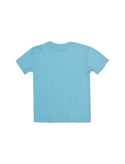 تی شرت و شلوارک نخی پسرانه - بلوکیدز - آبي/سفيد - 3