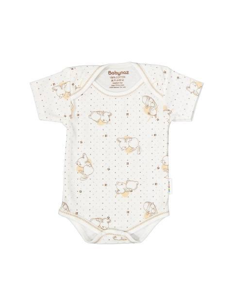 ست 3 تکه نخی نوزادی - استخواني نسکافهاي - 2