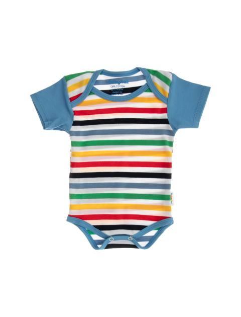 ست 3 تکه نخی نوزادی - چند رنگ - 2