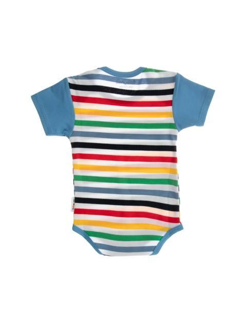 ست 3 تکه نخی نوزادی - چند رنگ - 3
