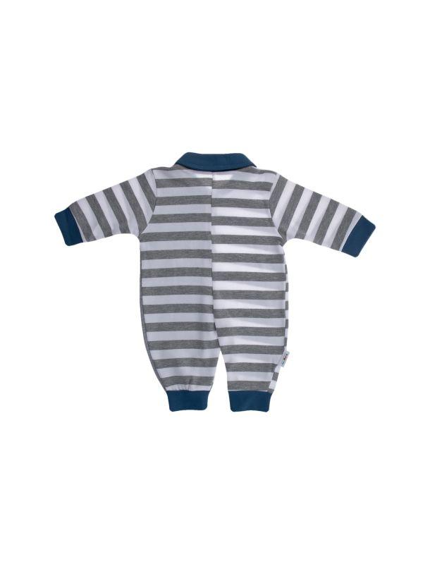 سرهمی نخی طرح دار نوزادی پسرانه - بی بی ناز