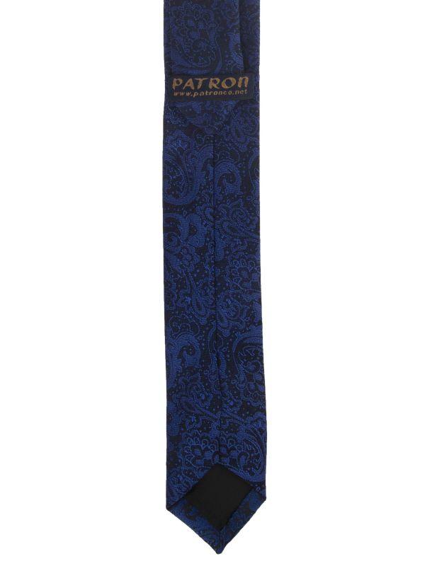 کراوات ابریشم طرح دار مردانه - پاترون