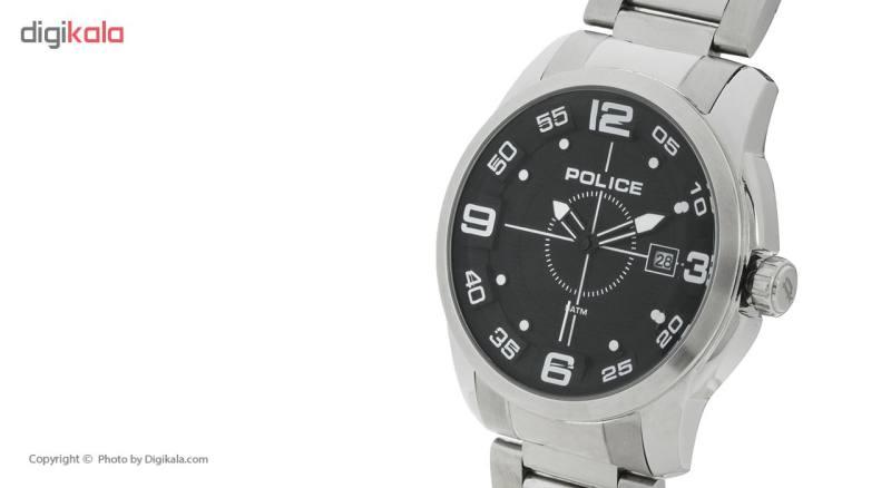 ساعت مچی عقربه ای مردانه پلیس مدل 14386JS-04M