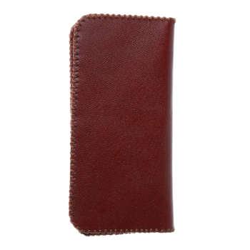 کیف پول چرم طبیعی بز دست دوز  کد 1209  