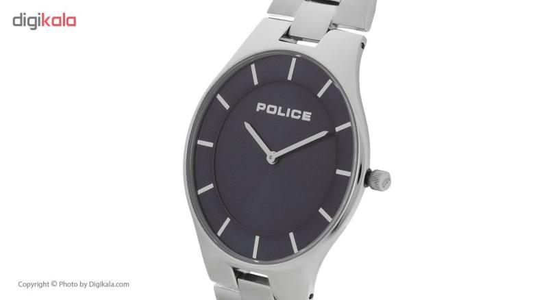 ساعت مچی عقربه ای مردانه پلیس مدل P14640JS-03M