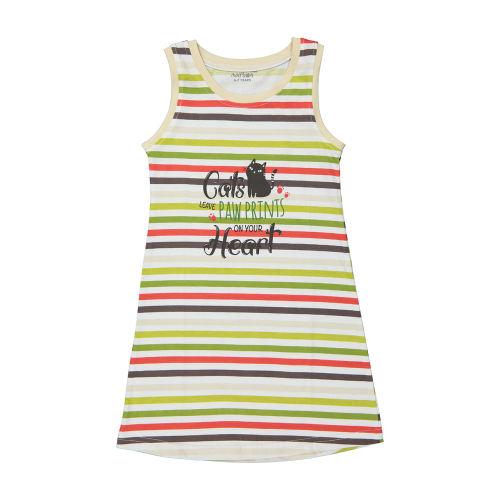 پیراهن راحتی دخترانه ناربن مدل 1521138-0107
