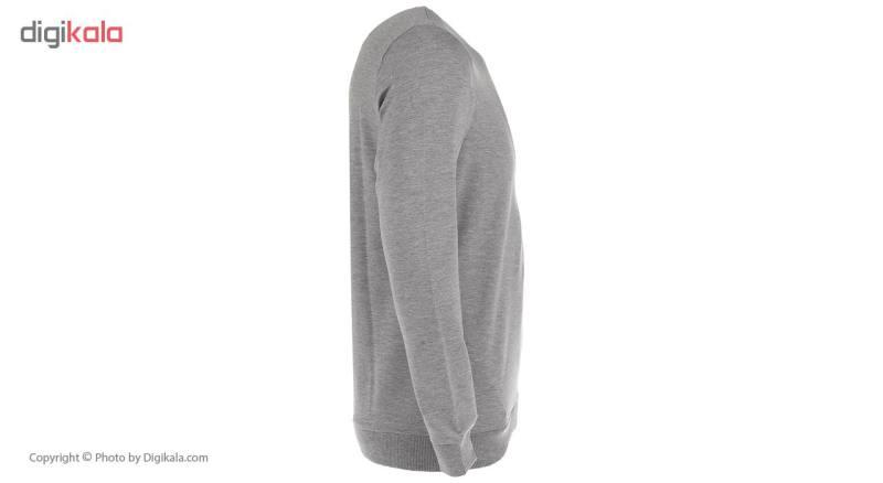 سویشرت مردانه جامه پوش آرا مدل 4101067166-MLMD