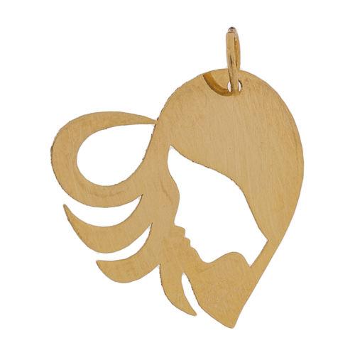 آویز گردنبند طلا 18 عیار زنانه مایا ماهک مدل MM0919