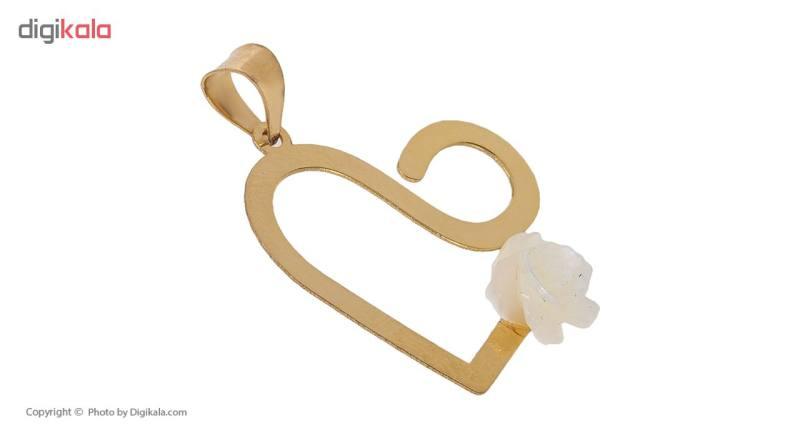 آویز گردنبند طلا 18 عیار زنانه مایا ماهک مدل MM0912