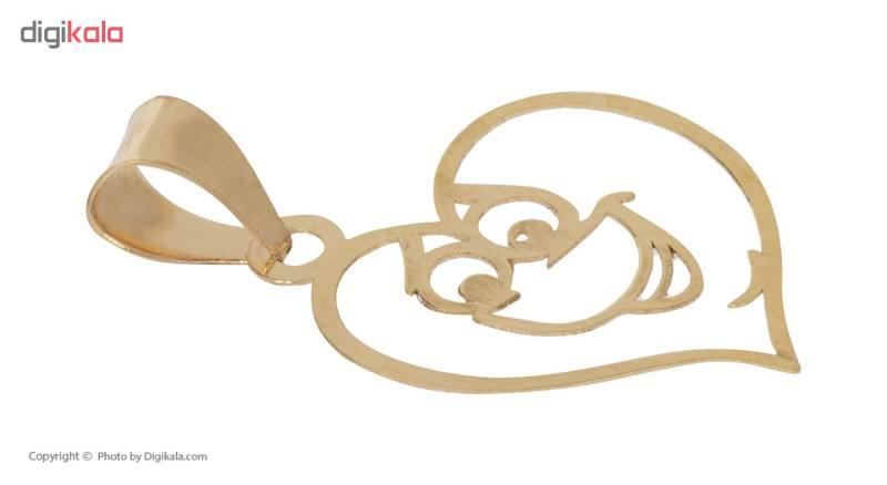 آویز گردنبند طلا 18 عیار زنانه مایا ماهک مدل MM0917