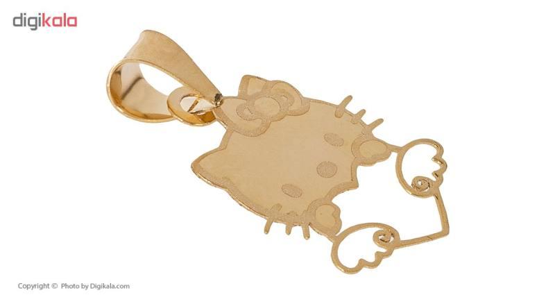 آویز گردنبند طلا 18 عیار زنانه مایا ماهک مدل MM0913
