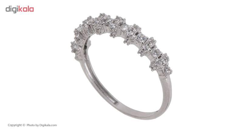 انگشتر طلا 18 عیار زنانه مایا ماهک مدل MR0297