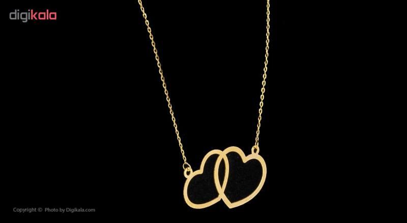 گردنبند طلا 18 عیار زنانه مایا ماهک مدل MM0910
