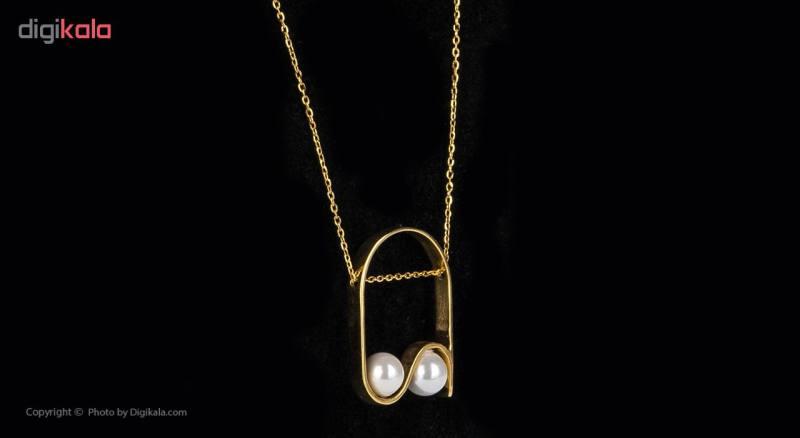 گردنبند طلا 18 عیار زنانه مایا ماهک مدل MM0911