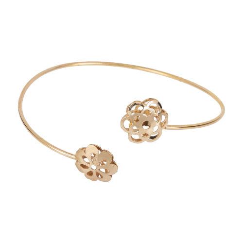 دستبند النگویی طلا 18 عیار زنانه مایا ماهک مدل MB0928