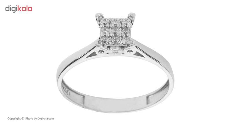 انگشتر طلا 18 عیار زنانه مایا ماهک مدل MR0308