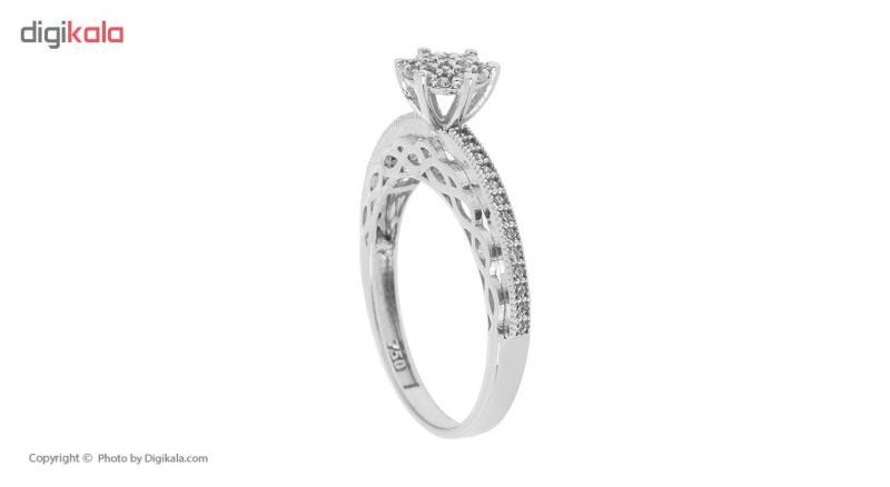 انگشتر طلا 18 عیار زنانه مایا ماهک مدل MR0300