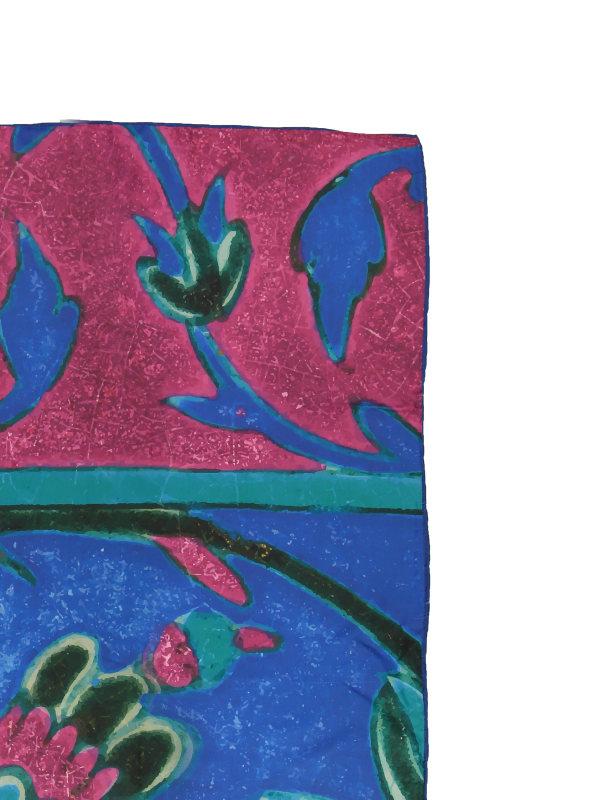 شال طرح دار زنانه مدل گل هندی - ادور