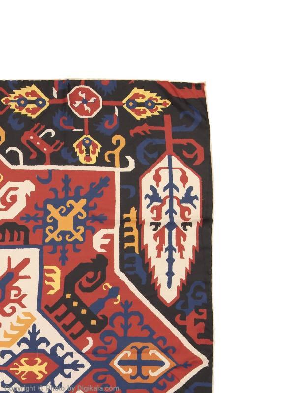 روسری طرح دار زنانه مدل قفقازی - ادور