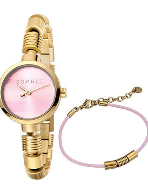 ست دستبند و ساعت مچی عقربه ای زنانه اسپریت مدل ES1L017M0055 -  - 1