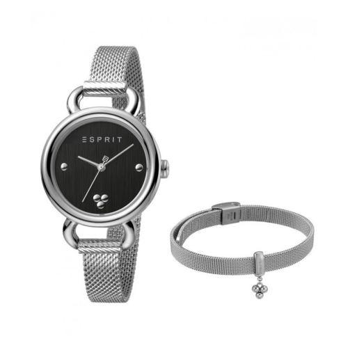 ست دستبند و ساعت مچی عقربه ای زنانه اسپریت مدل ES1L023M0045
